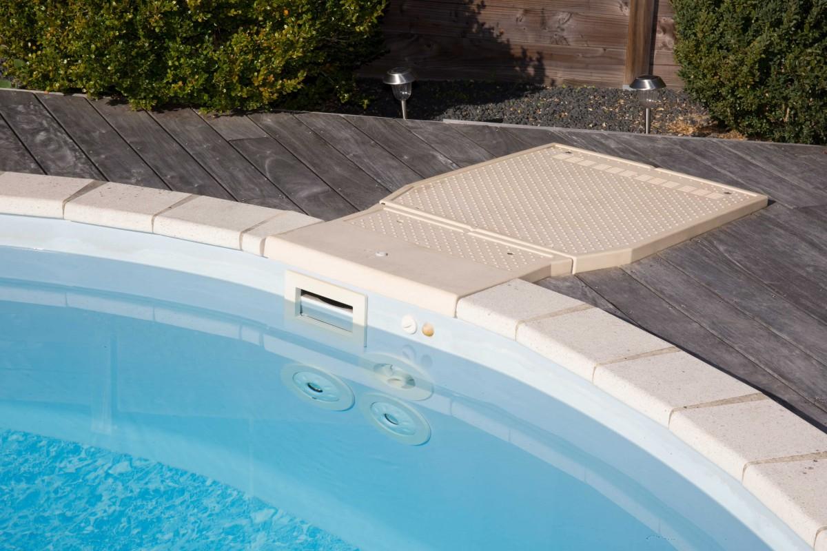 Filtration eau piscine coque