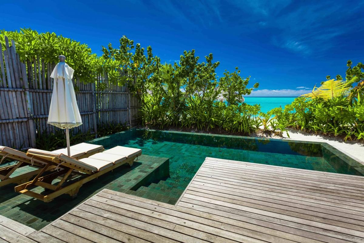 Petit bassin terrasse plage