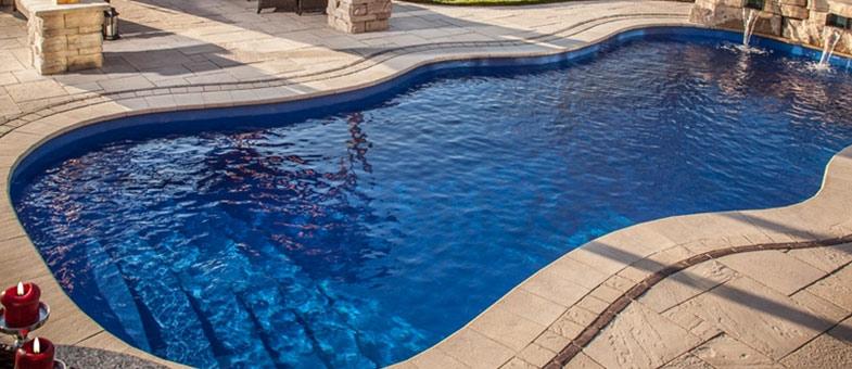 mini-piscine bétonnée