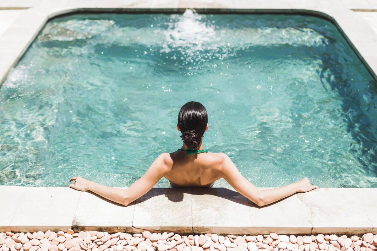 Petite piscine luxe