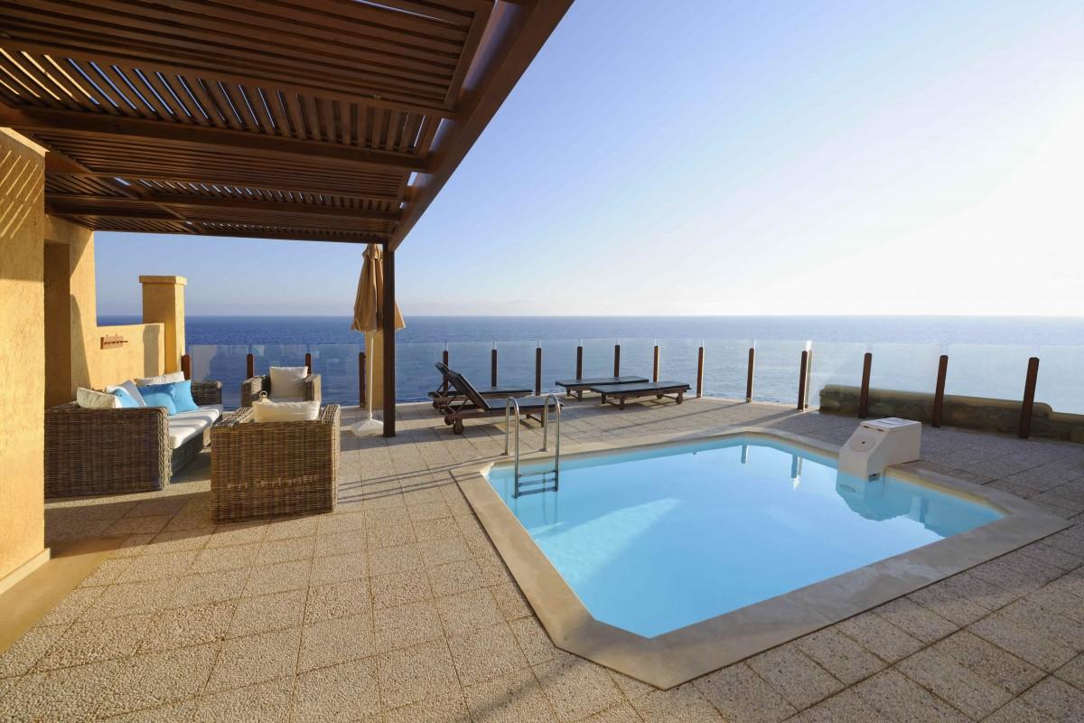 Mini piscine beton classique