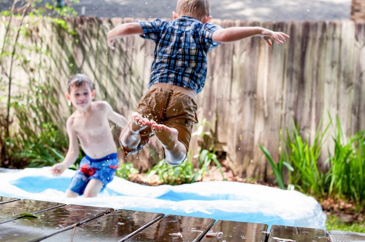 Les piscines destinées aux enfants